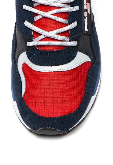 Polo Ralph Lauren Pantofi sport cu insertii de piele intoarsa Barbati