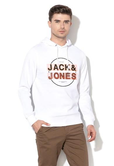 Jack&Jones Hanorac regular fit cu captuseala de fleece Booster Barbati