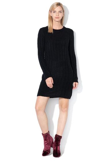 JdY Rochie tip pulover din amestec de lana, cu striatii Nine Femei