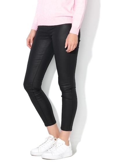 Only Pantaloni skinny cu aspect peliculizat Hush Femei