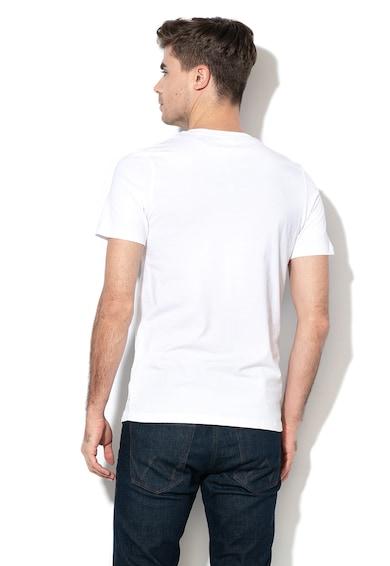 Jack&Jones Tricou slim fit cu imprimeu logo pe piept New Barbati