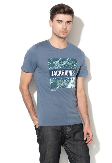 Jack&Jones Tricou slim fit cu imprimeu Pine, Barbati