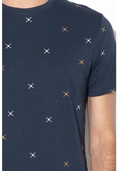 Only & sons Tricou slim fit cu model geometric Kane Barbati