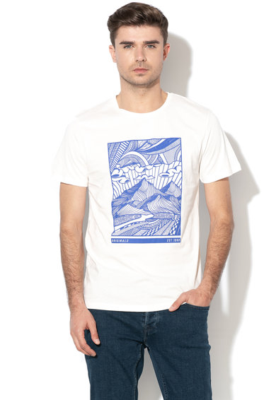 Jack&Jones Tricou regular fit cu imprimeu grafic Rowan Barbati