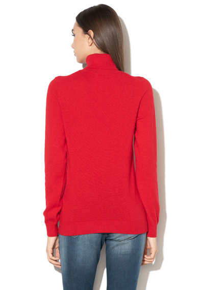 United Colors of Benetton Pulover din amestec de lana, cu guler inalt Femei