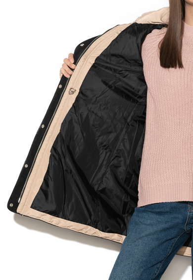 Vero Moda Geaca cu vatelina si garnitura de blana sintetica Viennamy Femei
