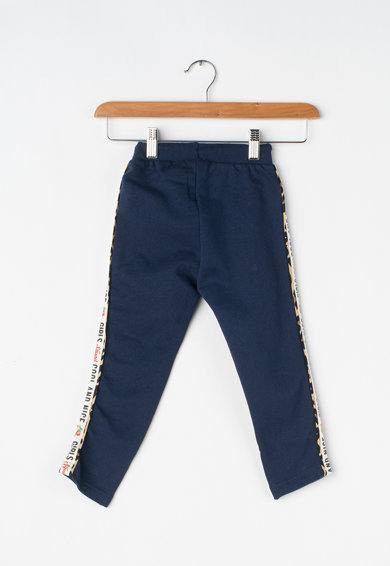 Blue Seven Pantaloni sport cu segmente laterale contrastante Fete