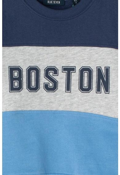 Blue Seven Bluza sport cu imprimeu text Baieti
