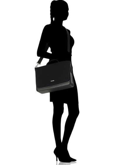 O bag Geanta messenger de cauciuc si panza Femei