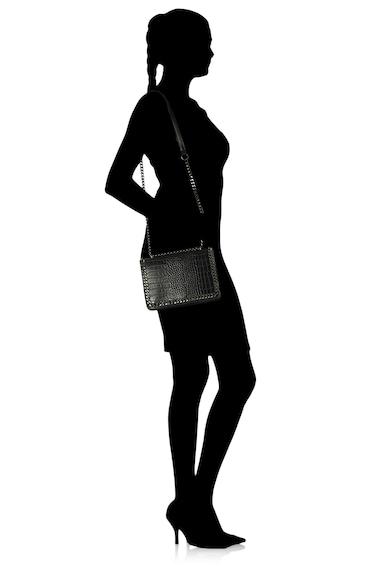 Francesca Rossi Geanta de piele ecologica, cu bareta de umar si model piele de reptila Femei