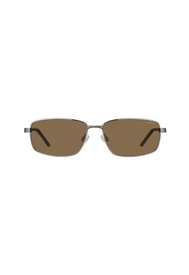 Polaroid Поляризирани правоъгълни слънчеви очила Мъже