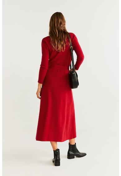 Mango Rochie petrecuta din tricot fin Zen Femei