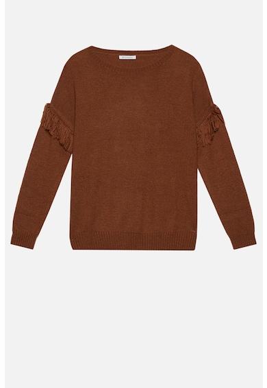 Motivi Pulover din amestec de lana, cu franjuri Femei