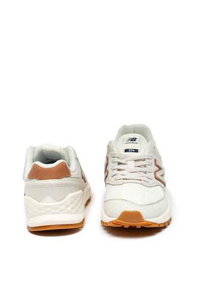 New Balance Pantofi sport cu garnituri de piele 574 Femei