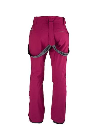 NORTHFINDER Pantaloni impermeabili cu bretele detasabile, pentru ski Loxleyna Femei
