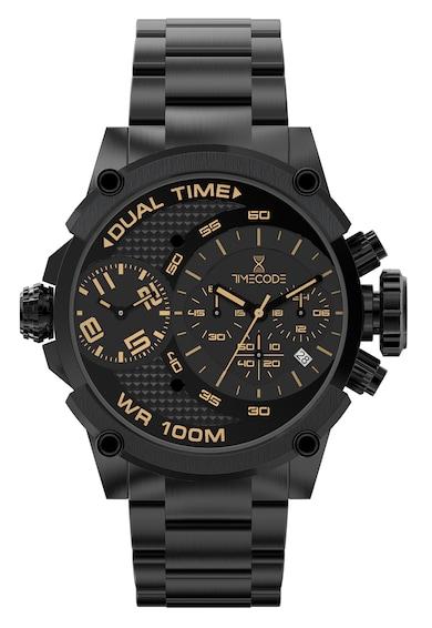 Timecode Ceas cronograf din otel inoxidabil Barbati