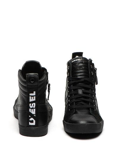 Diesel Pantofi sport inalti de piele si piele intoarsa Velows Barbati