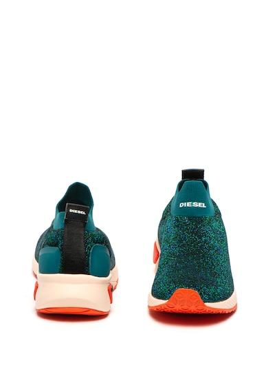Diesel Pantofi sport slip-on cu insertii de lurex Kby Femei