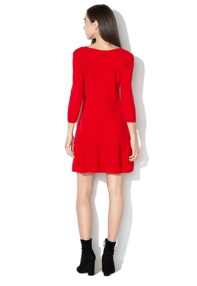United Colors of Benetton Rochie evazata din amestec de lana Femei