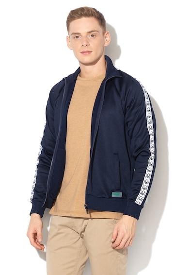 United Colors of Benetton Bluza sport cu fermoar si captuseala din material fleece Barbati