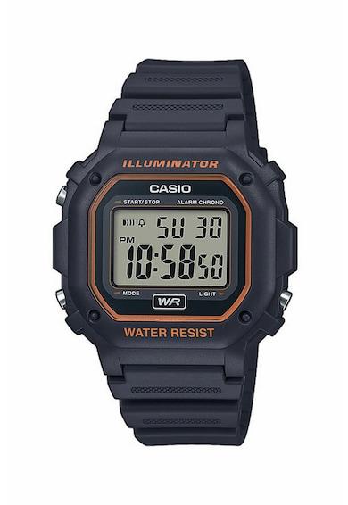 Casio Ceas cronograf digital cu detalii contrastante Barbati