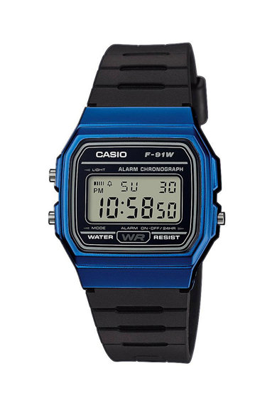 Casio Ceas cronograf digital cu carcasa contrastanta Barbati
