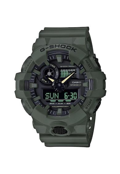 Casio Удароустойчив дигитален часовник с хоронометър Мъже