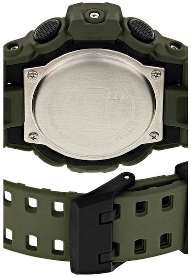 Casio Ceas digital cronograf, rezistent la socuri Barbati
