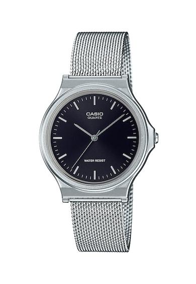 Casio Унисекс часовник с мрежеста верижка Жени