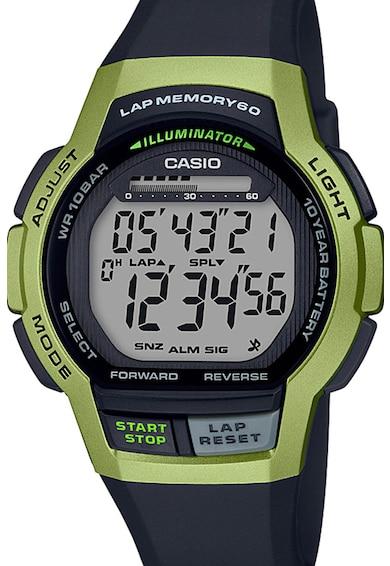 Casio Ceas cronograf cu o curea de plastic Barbati