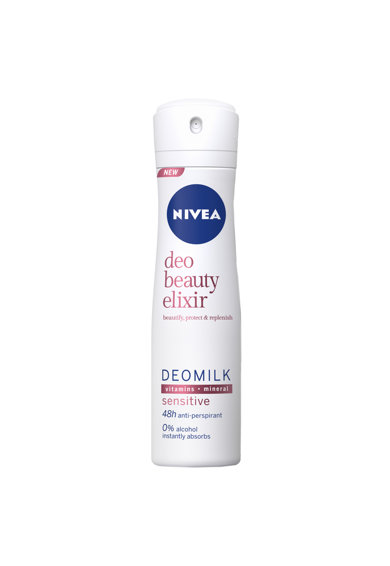 Nivea Deodorant spray  Beauty ElixirSensitive,150 ml Femei