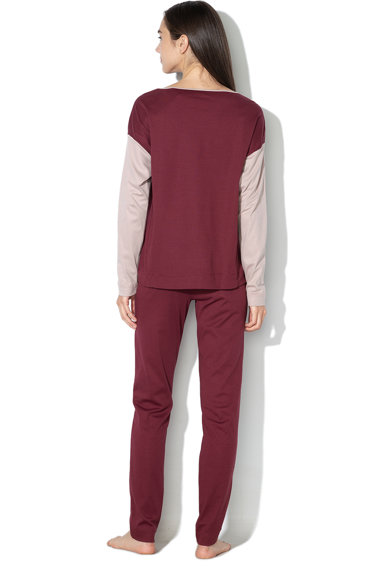 Undercolors of Benetton Pijama din bumbac, cu insertie elastica Femei
