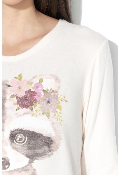 Undercolors of Benetton Bluza de pijama cu imprimeu grafic Femei