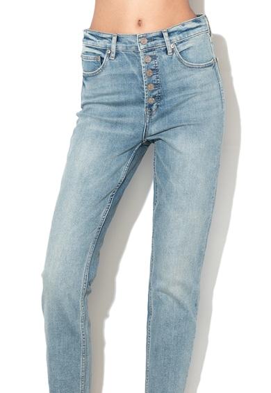 GAP Прави дънки с незавършен подгъв Жени