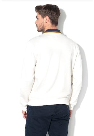 GAP Bluza sport cu decolteu la baza gatului si imprimeu logo Barbati