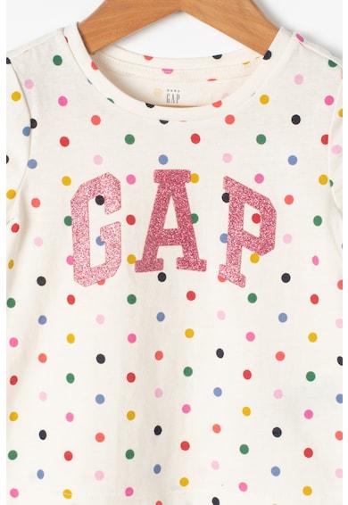 GAP Tricou cu imprimeu si insertii stralucitoare Fete