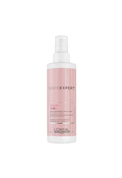 L'Oreal Professionnel Spray de par multifunctional  Serie Expert Vitamino Color Resveratrol 10-in-1 pentru par vopsit, 190 ml Femei