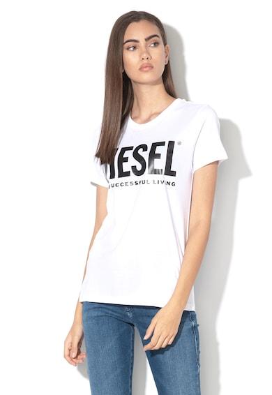 Diesel Tricou cu imprimeu logo Sily Femei