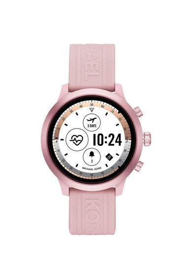 Michael Kors Ceas Smartwatch  GO, , Silicon, Pink/Pink Femei