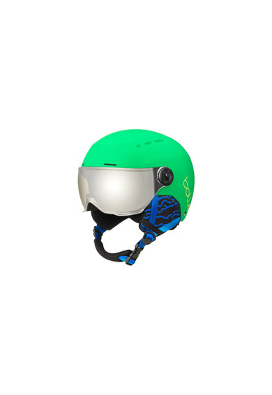 Bolle Casca ski  Quiz Visor CAT.3, Green/Grey Femei