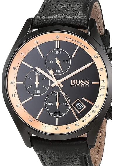 Boss Hugo Boss Ceas cronograf cu o curea de piele Barbati