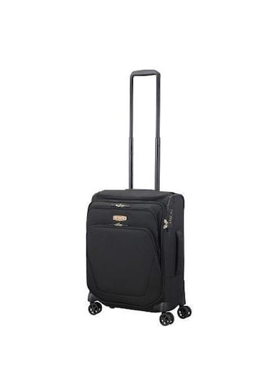 Samsonite Troller  Spark SNG, Black, 4 roti, 35x20x55cm Femei