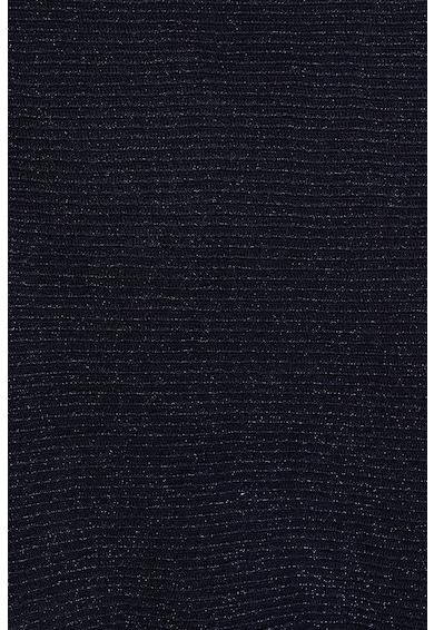 Mango Bluza cu striatii si insertii metalice Amperio Femei