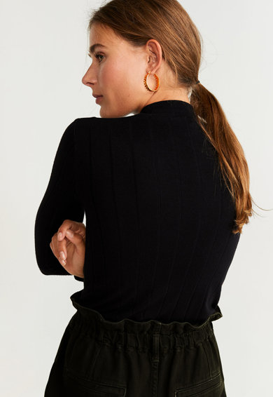 Mango Pulover din tricot fin Eva Femei