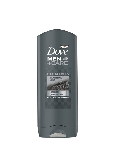 Dove Men Gel de dus +Care Charcoal & Clay, 400 ml Barbati
