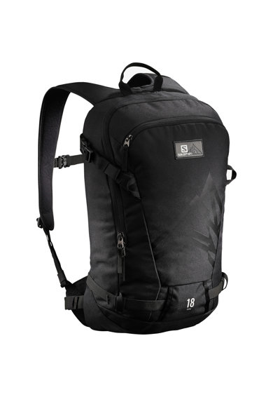 Salomon Rucsac sport  Side 18, Unisex, Black, One size Femei