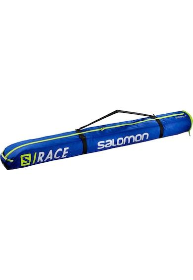 Salomon Husa schiuri  Extend 1pair 165+20, Unisex, Race Blue/Neon Yellow, One size Femei