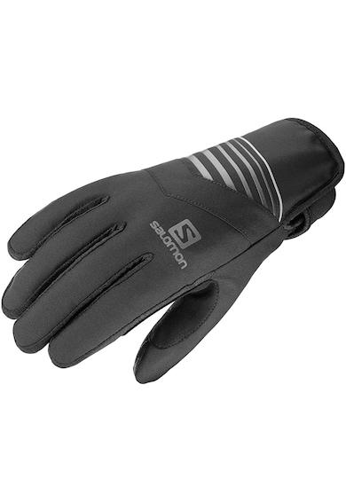 Salomon Manusi sport  RS Warm, Unisex, Black/Charcoal, Femei