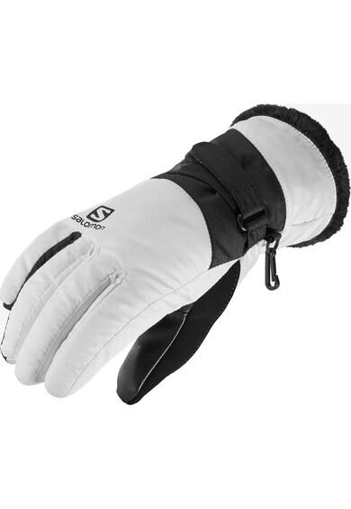 Salomon Manusi sport  Force dry, pentru femei, White/Black, Femei