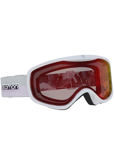 Salomon Ochelari schi  Sense, Unisex, White/Red, One size Barbati